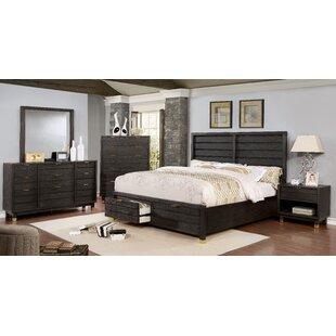 Randeep Contemporary Storage Configurable Bedroom Set by Brayden Studio