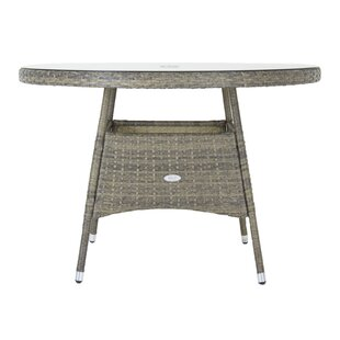 Latricia Rattan Dining Table Image