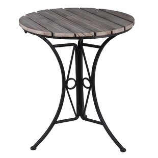 Savings Larissa Bistro End Table by August Grove