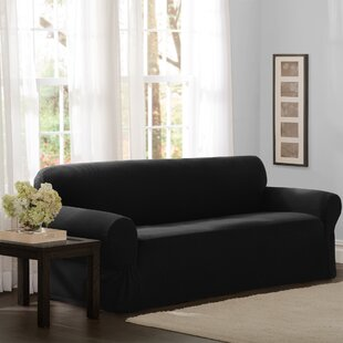 Affordable Box Cushion Sofa Slipcover by Darby Home Co Reviews (2019) & Buyer's Guide
