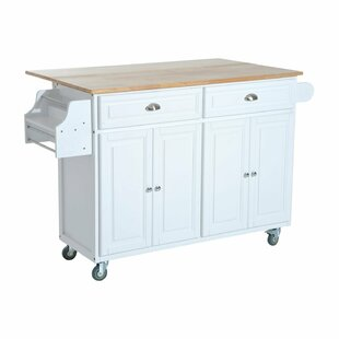 Evans Kitchen Cart Winston Porter