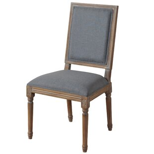 Tookes Straight Back Upholstered Dining Chair by Ophelia & Co.