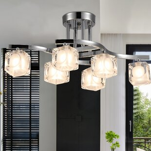Darian 6-Light Semi Flush Mount by Orren Ellis