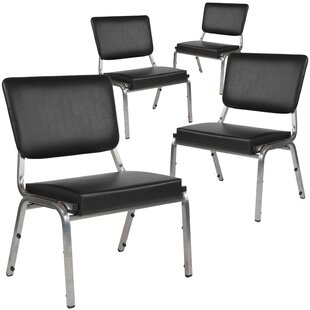 MacArthur Armless Stacking Chair (Set of 4) by Ebern Designs