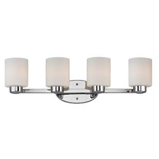 Best Reviews Brookings 4-Light Vanity Light By Dolan Designs