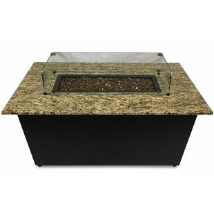 Firetainment The Monaco Aluminum Gas Fire Pit Table