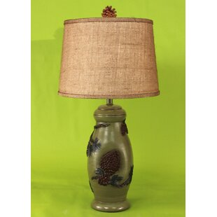 Pine Cone 26.5 Table Lamp