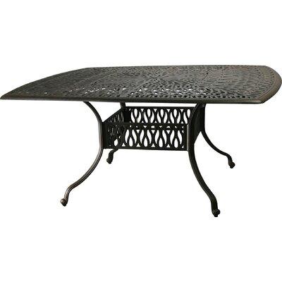 Maidenhead Aluminum Dining Table by Astoria Grand No Copoun