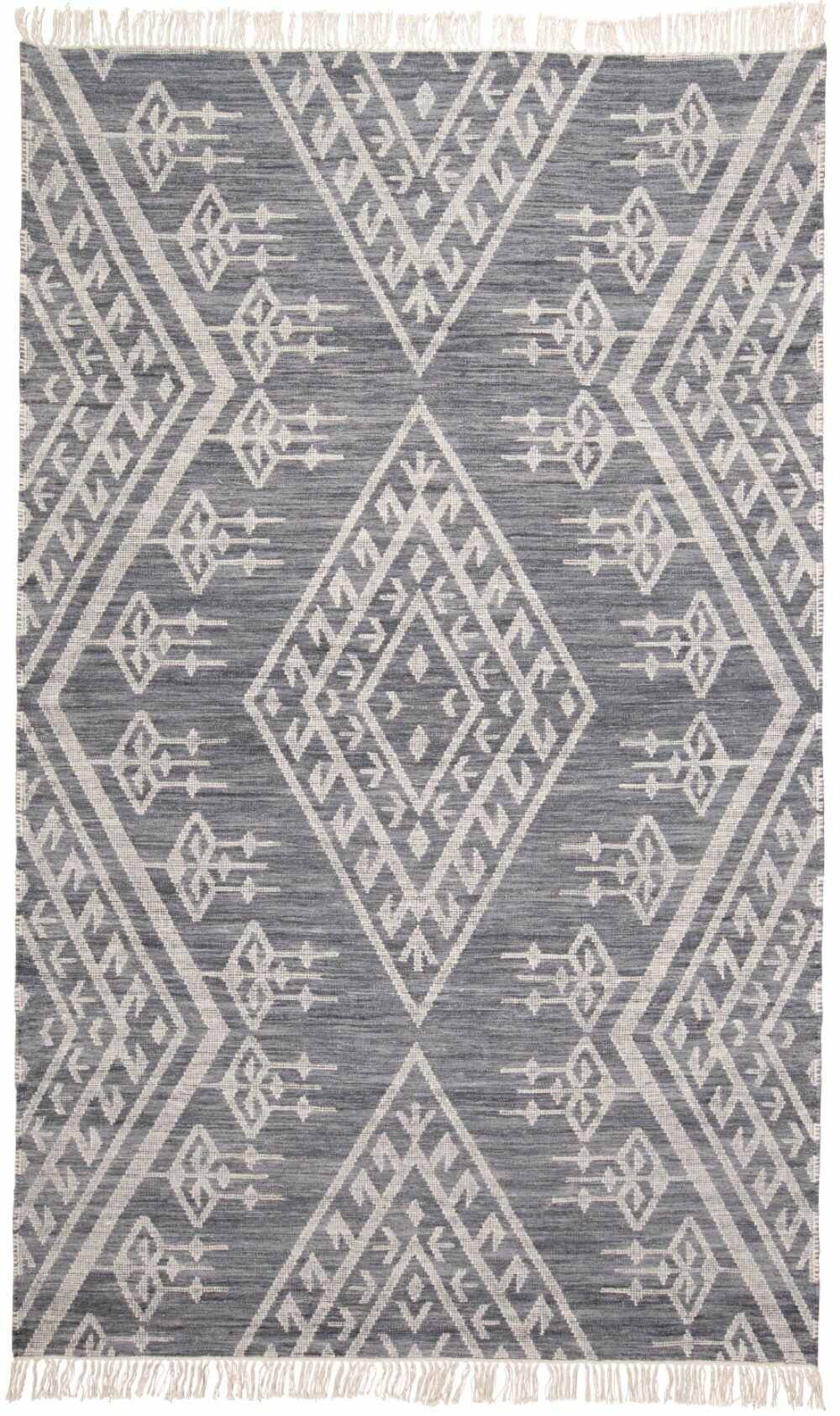 Haught Handwoven Flatweave Wool Cotton Gray Area Rug Reviews Allmodern