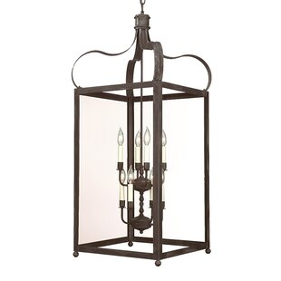 Darby Home Co Kareen 8-Light Outdoor Chandelier
