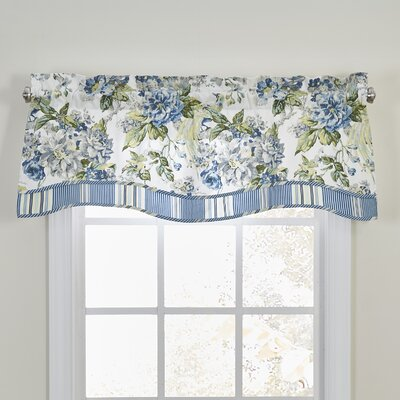 Waverly Floral Engagement Curtain Valance