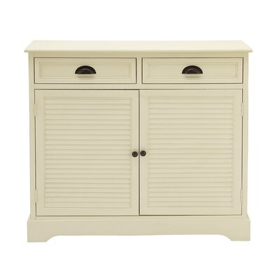 2 Door 2 Drawer Accent Cabinet by Cole  and  Grey