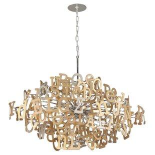 Corbett Lighting Media 6-Light Sputnik Chandelier
