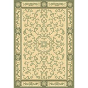 Carsen Natural/Olive Indoor/Outdoor Rug