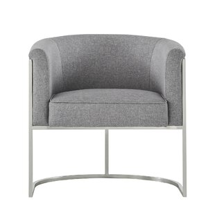 Orren Ellis Oldaker Curved Barrel Chair