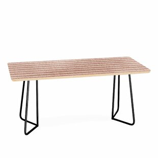 Zhi Stripe Coffee Table by East Urban Home