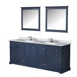 Drumgurland 84 Double Bathroom Vanity Set with Mirror by Red Barrel Studio®