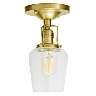 Shumway 1-Light Semi Flush Mou..