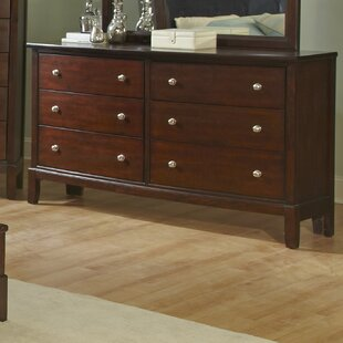 Wildon Home ® Denver 6 Drawer Double Dresser