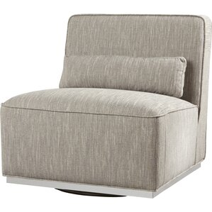 Sunpan Modern Cotyledon Swivel Convertible Chair Image