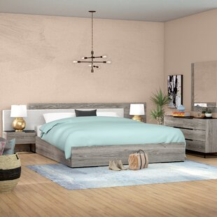 Brayden Studio Daughtery Platform 5 Piece Bedroom Set