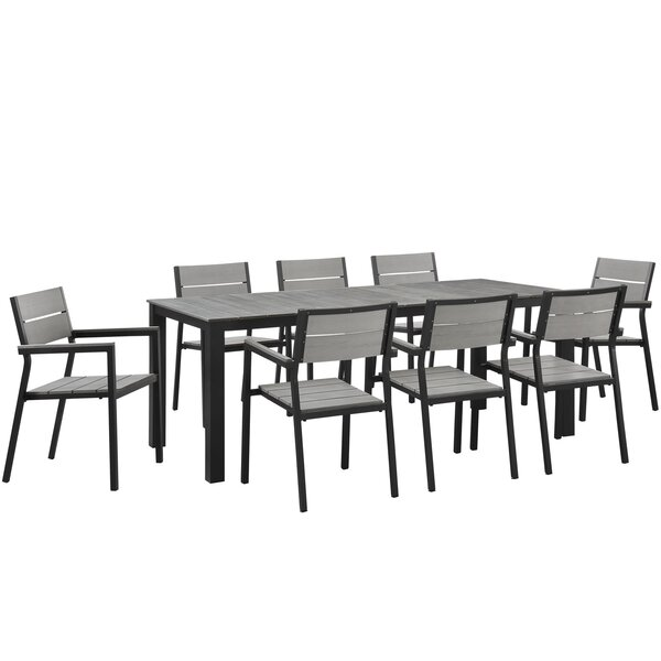 Admirable Modern Contemporary Broyhill Outdoor Dining Sets Allmodern Andrewgaddart Wooden Chair Designs For Living Room Andrewgaddartcom