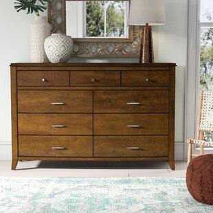 Mistana Travis 9 Drawer Double Dresser