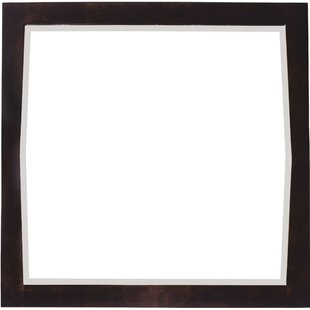 Best Review Rosehill Birch Wood-Veneer Wall Mirror By Winston Porter