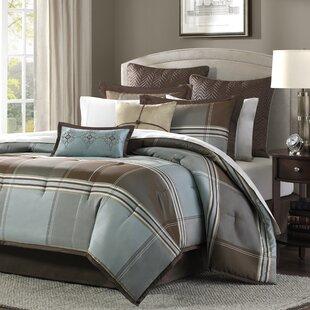 Darby Home Co Frances 8 Piece Reversible Comforter Set