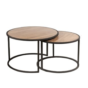 Abels 2 Piece Coffee Table Set By Blue Elephant