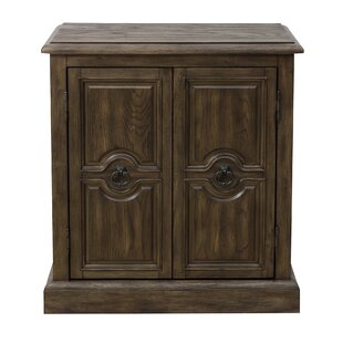 Sandwell Carved 2 Door Accent Cabinet ByAlcott Hill