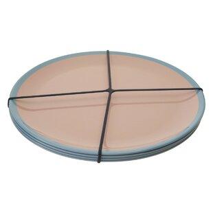 Linehan Melamine Dinner Plate (Set Of 4) By Ebern Designs