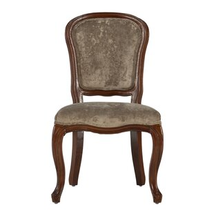 DeMontfort Upholstered Dining Chair Set of Two (Set of 2) by Rosdorf Park