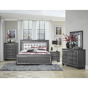 Boden Upholstered Panel Bed by House of Hampton