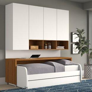 Gautreau Compact Twin Murphy Bed by Brayden Studio