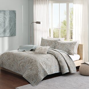 Mcnemar 4 Piece Reversible Coverlet Set
