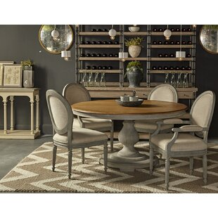Maison 55 5 Piece Solid Wood Dining Set by Resource Decor Best Choices
