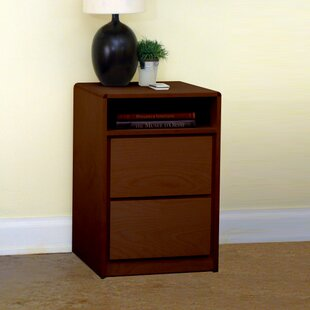 Art Deco 2 Drawer Nightstand By Gothic Furniture