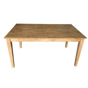 Early American Shaker Solid Wood Dining Table by Ezekiel and Stearns