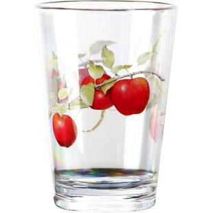 Harvest Apple Acrylic 8 oz. Drinkware (Set of 6)
