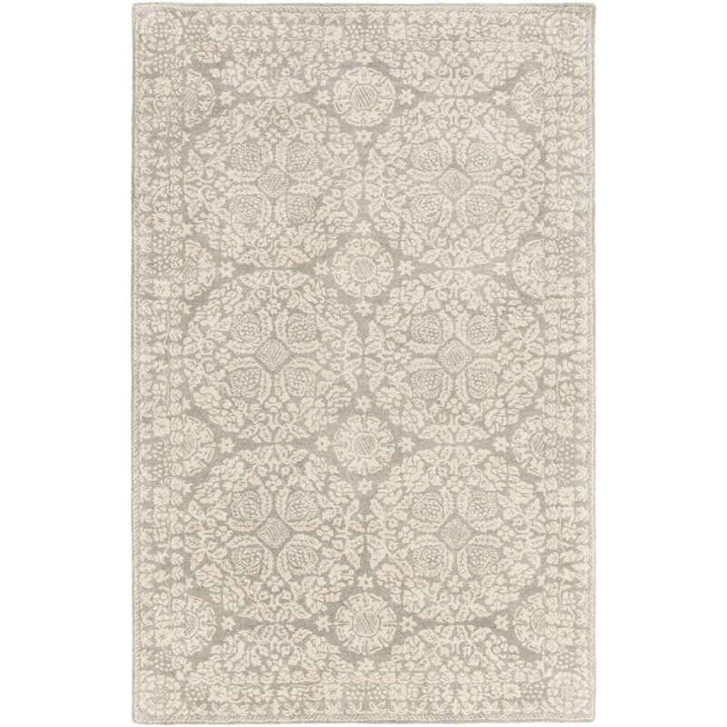 Superieur Smithsonian Hand Tufted Gray/Neutral Area Rug