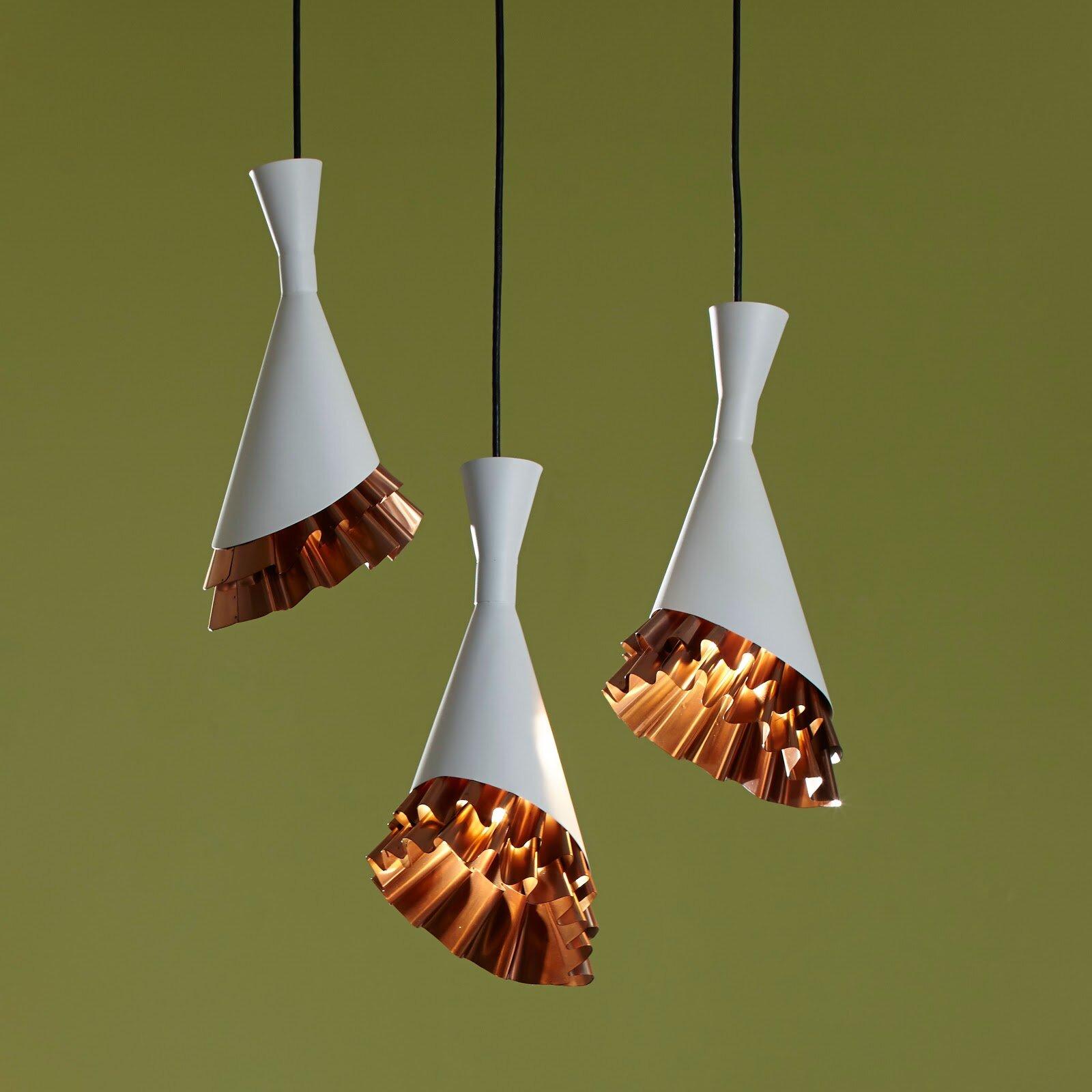 Phillips Collection 1 Light Unique Cone Pendant Wayfair