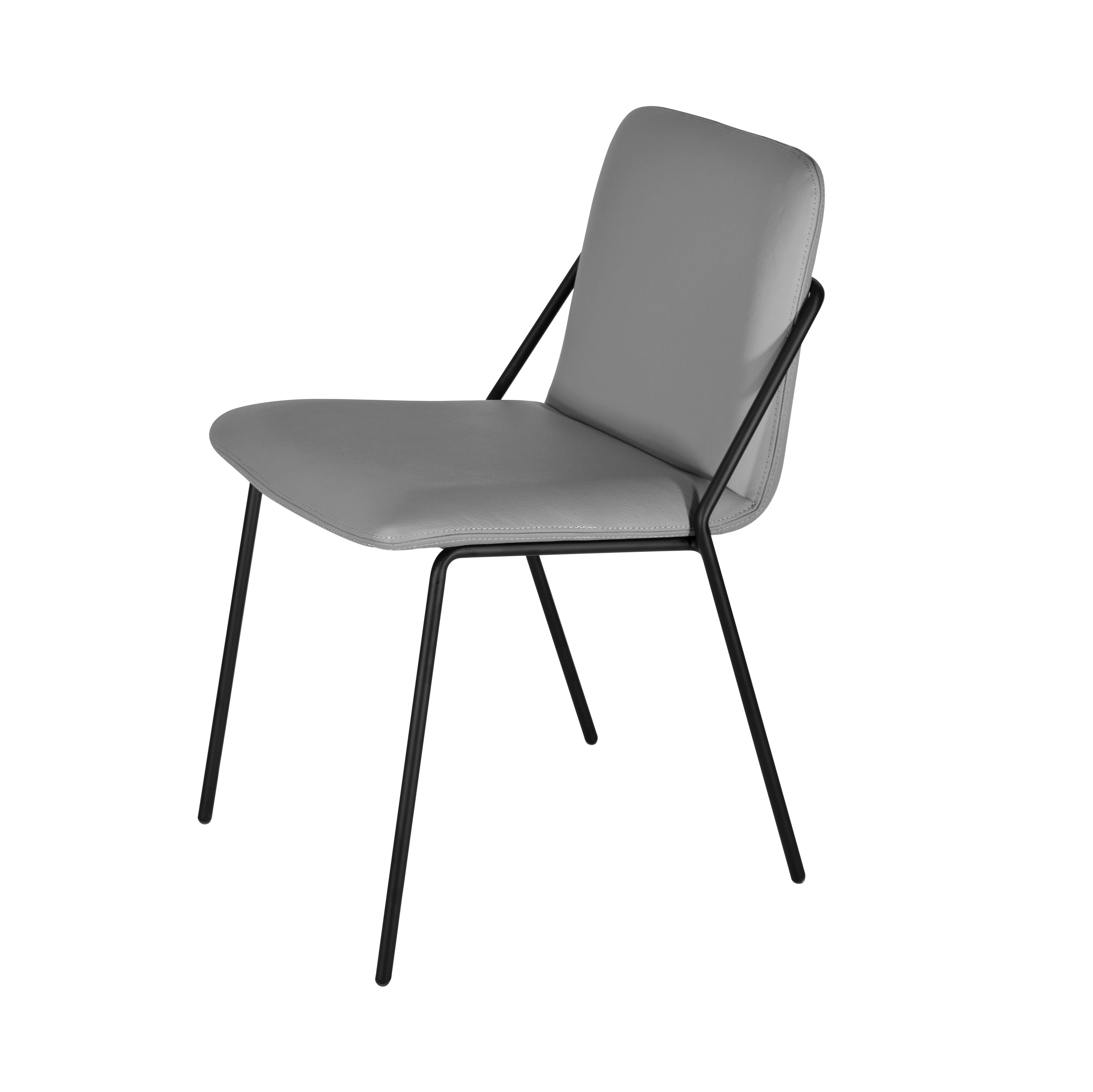 M A D Furniture Sling Eco Leather Upholstered Dining Chair Reviews Wayfair
