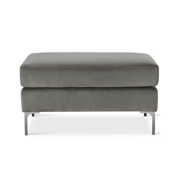 Outstanding Modern Contemporary Ottoman With Chrome Legs Allmodern Uwap Interior Chair Design Uwaporg