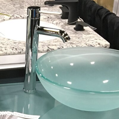 AllAboutModern Single Hole Faucet Bathroom with Drain Assembly
