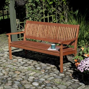 Mayela Wooden Bench By Sol 72 Outdoor
