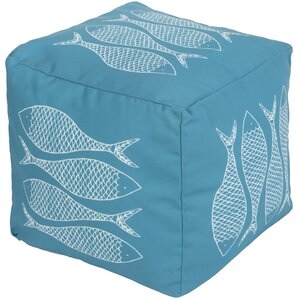 Christiansburg Pouf Ottoman by Highland Dunes