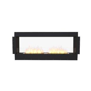 FLEX68 Double Sided Wall Mounted Bio-Ethanol Fireplace Insert by EcoSmart Fire