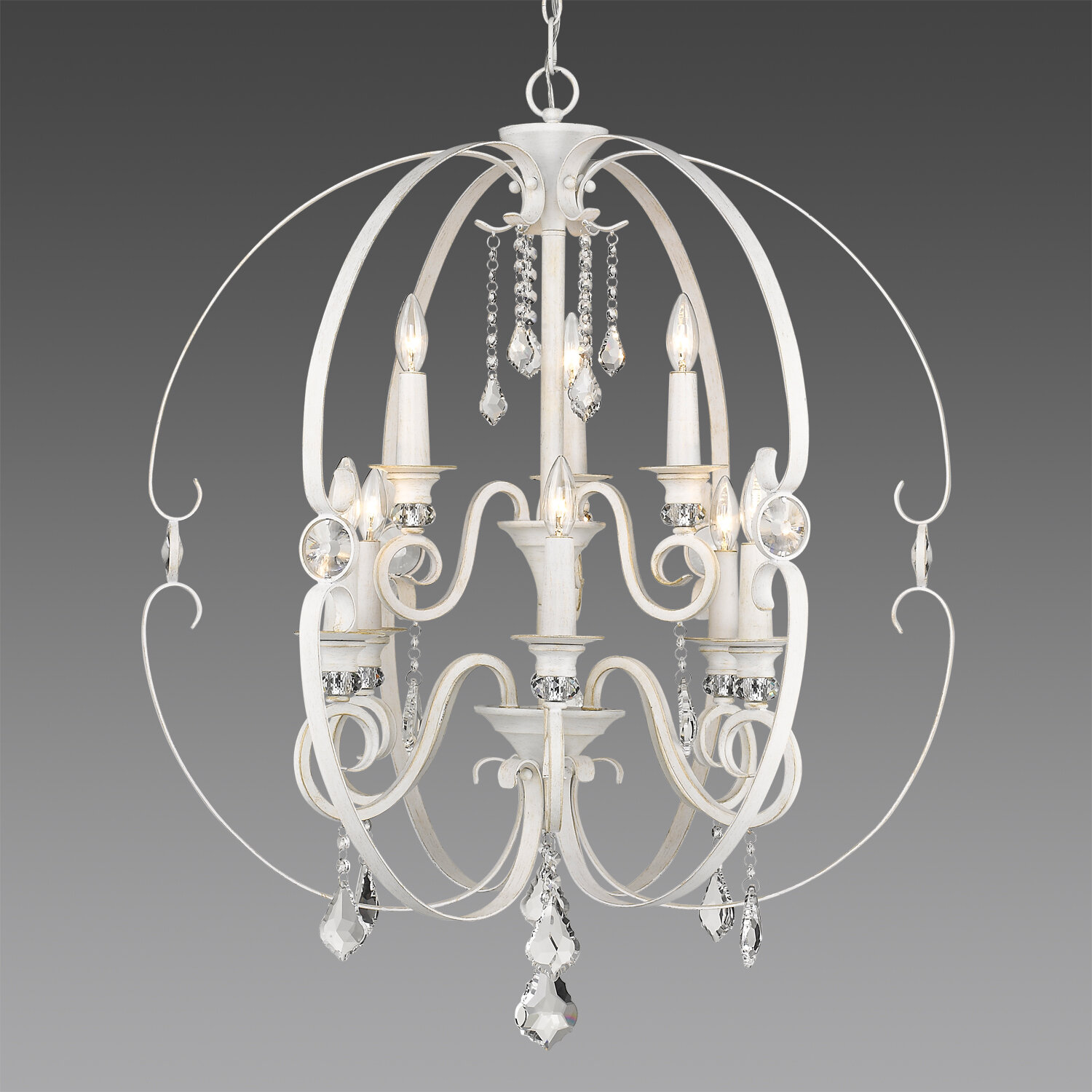 Hardouin 9 Light Candle Style Tiered