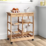 Rae Rolling Kitchen Cart by Dotted Line™